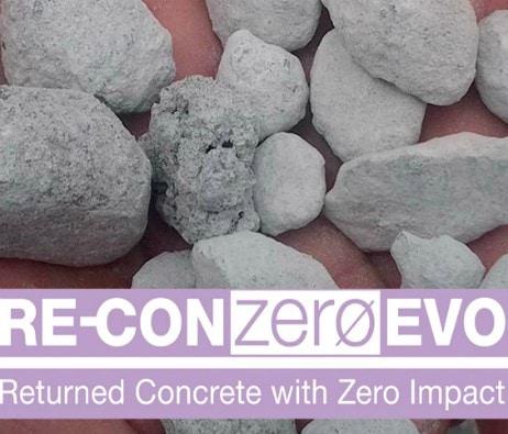 Re-Con Zero EVO resirkulerer betongrester