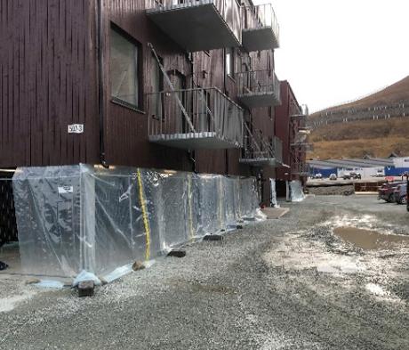 Svalbards første parkeringskjeller