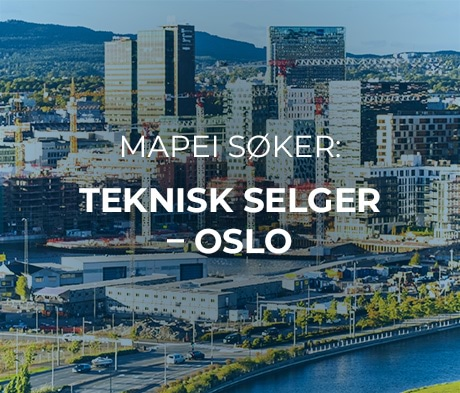 Vi søker teknisk selger - OSLO