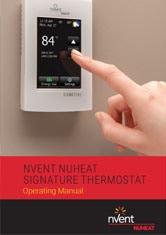Nvent Nuheat Signature Thermostat - Operating Manual