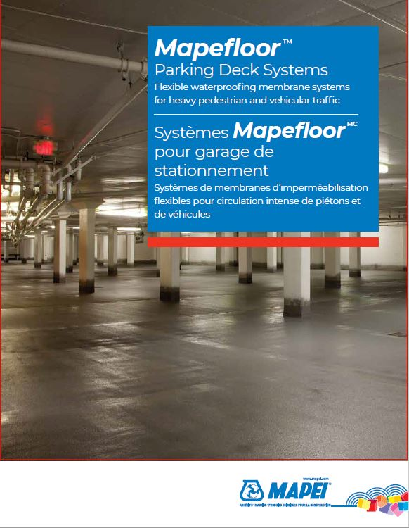 Mapefloor Parking Deck Systems