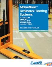 Mapefloor Resinous Flooring - Installation Manual
