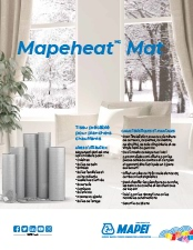 Fiche Mapeheat Mat