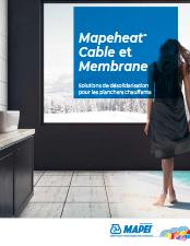 Mapeheat Cable et Membrane Solutions de désolidarisation pour les planchers chauffants