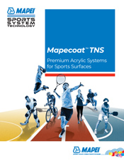Mapecoat TNS - Premium Acrylic Systems for Sports Surfaces