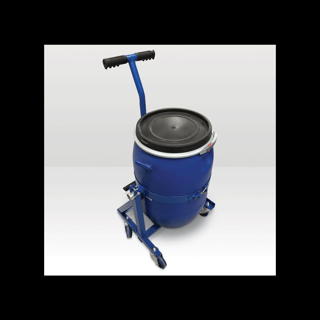 MAPEI Self-Leveling Mixing Barrel Cart