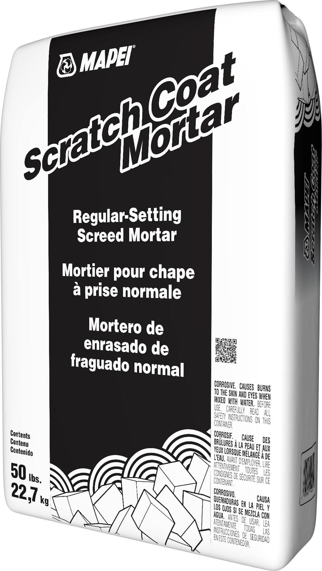 Scratch Coat Mortar