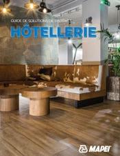 brochure hôtellerie