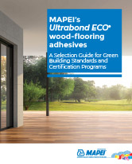 MAPEI's Ultrabond ECO wood-flooring adhesives