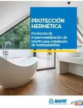 Protección hermética: Productos de impermeabilización de MAPEI para instalación de losetas/piedras