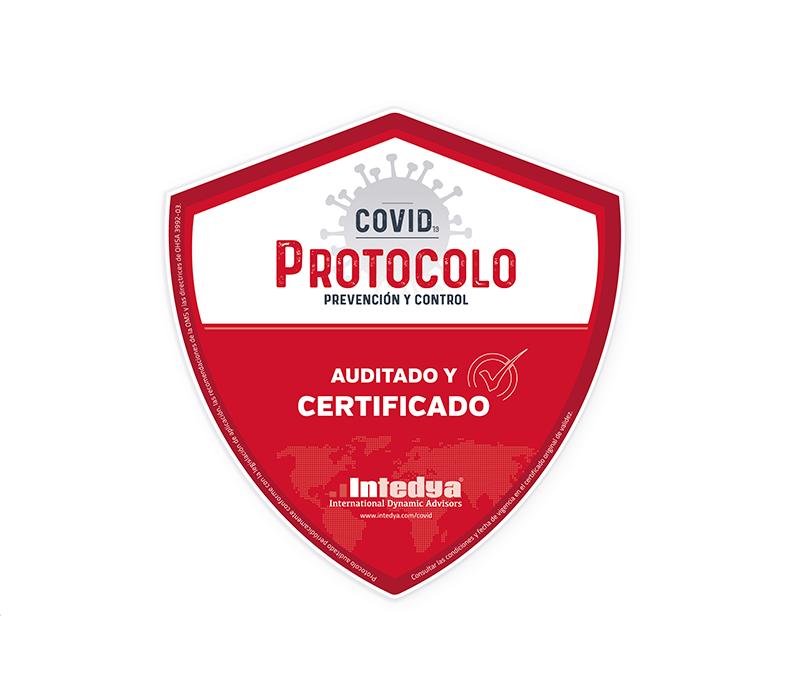 Certificado Protocolo COVID-19