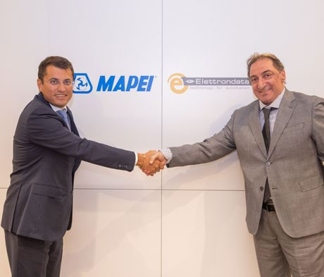 Mapei and Elettrondata announce the strategic partnership agreement for the quality control of transported concrete