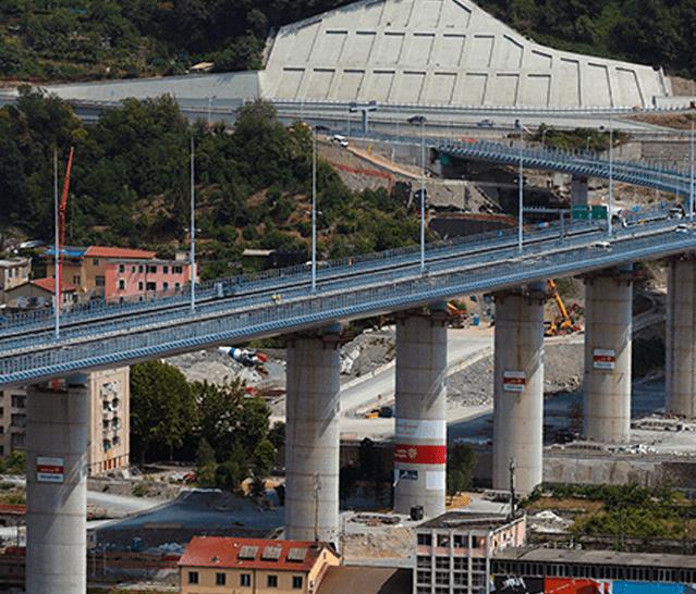 Aditivos e Assistência Técnica Mapei para a construção da nova Ponte San Giorgio de Génova (Itália)