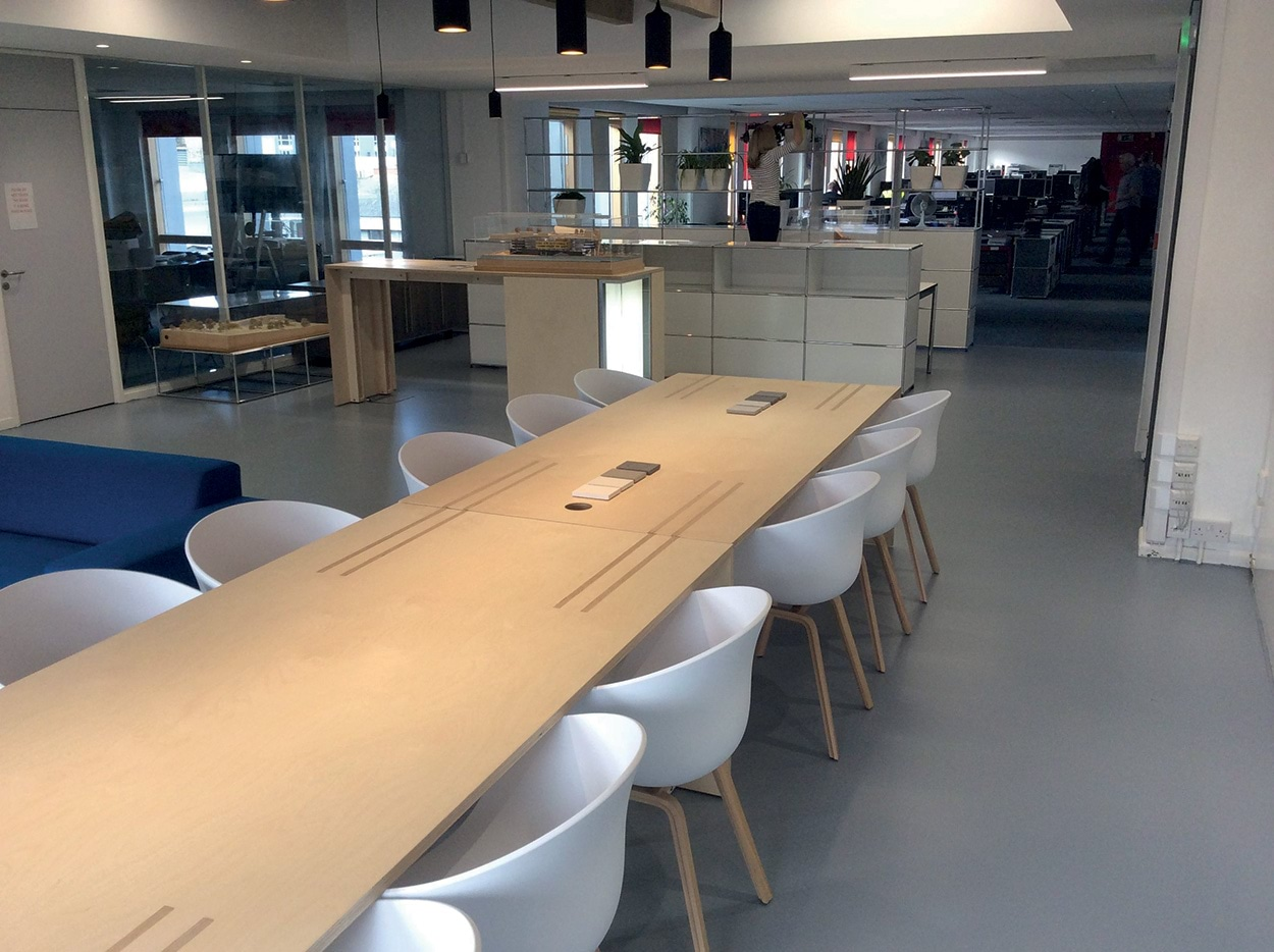 Mapei a Londra - LONDON SHOWROOM 2