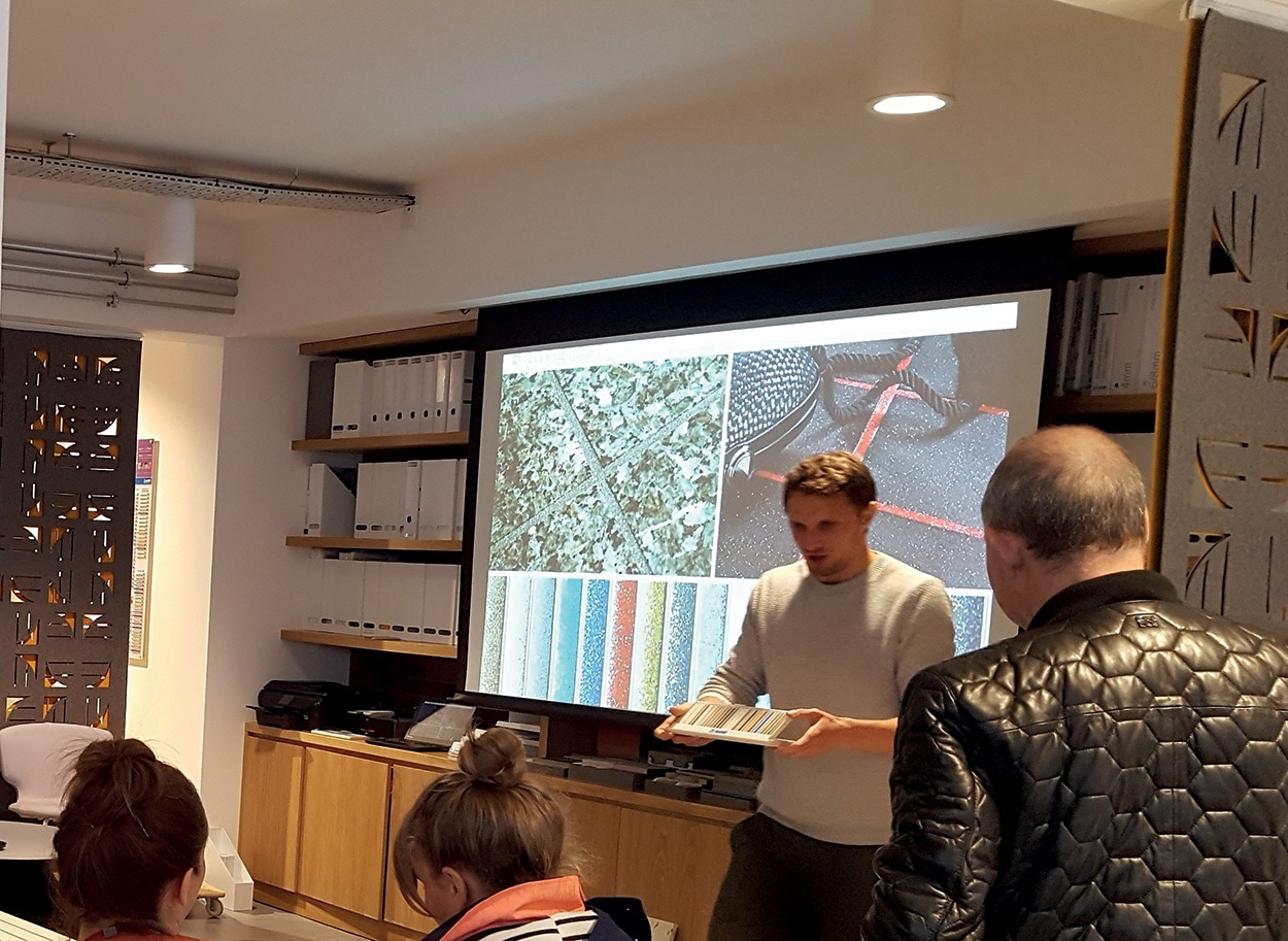Mapei LONDON SHOWROOM - Clerkenwell Design Week - Event Ian Hunter