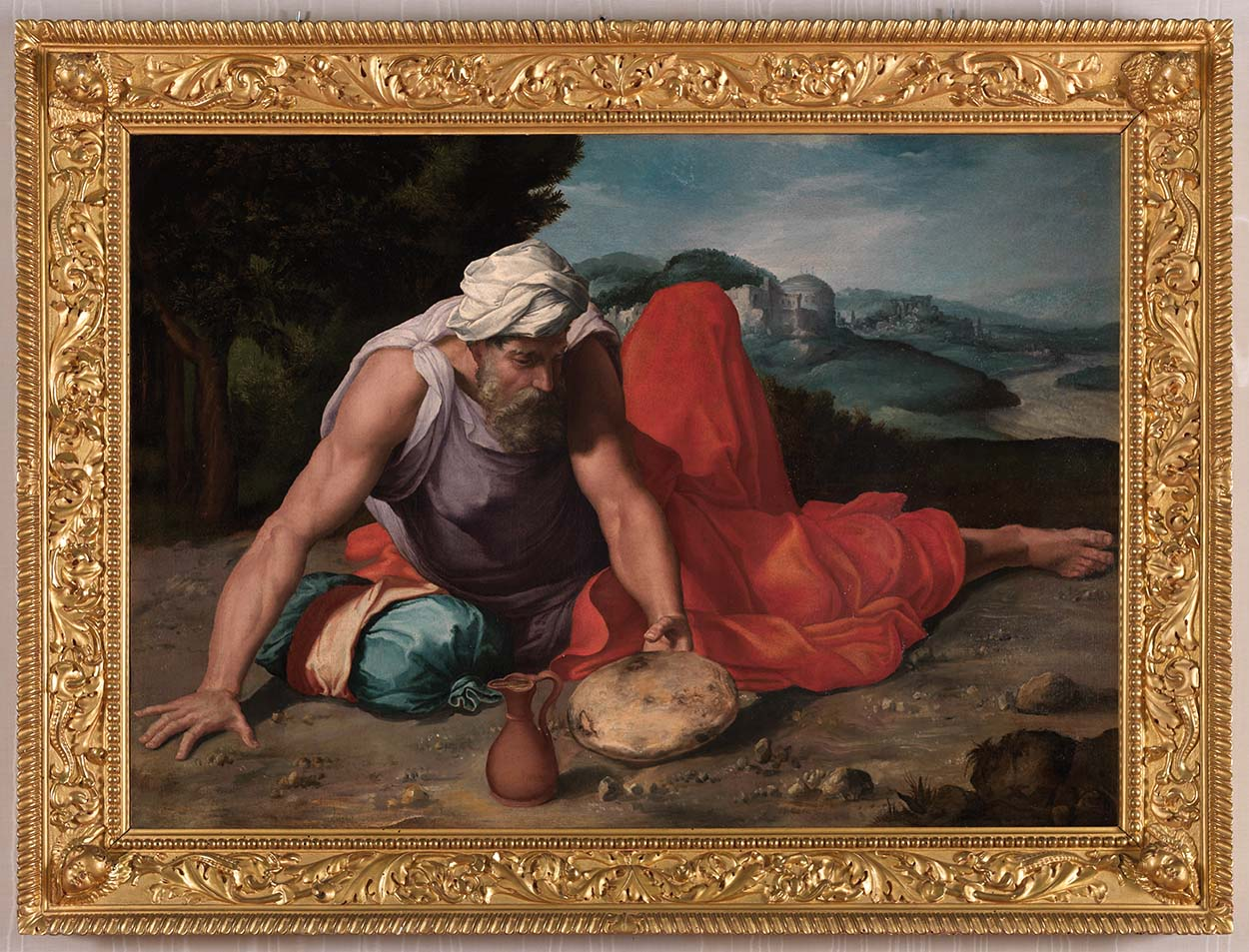 183_Daniele da Volterra_Il profeta Elia nel deserto-r