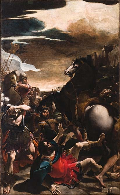 Ludovico Carracci_Conversione di Saulo-r