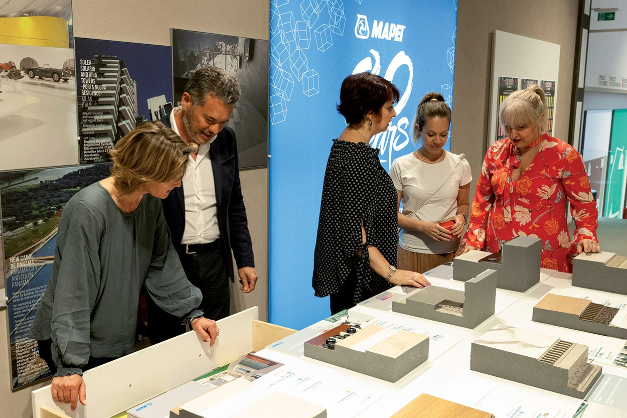 Mapei Milano Specification Centre Show Room Meeting (4)