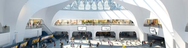 New Street Station in Birmingham
