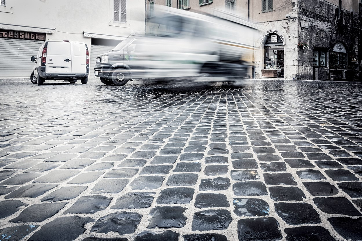Mapei nella Piazza di Spoleto_Sistema Mapestone