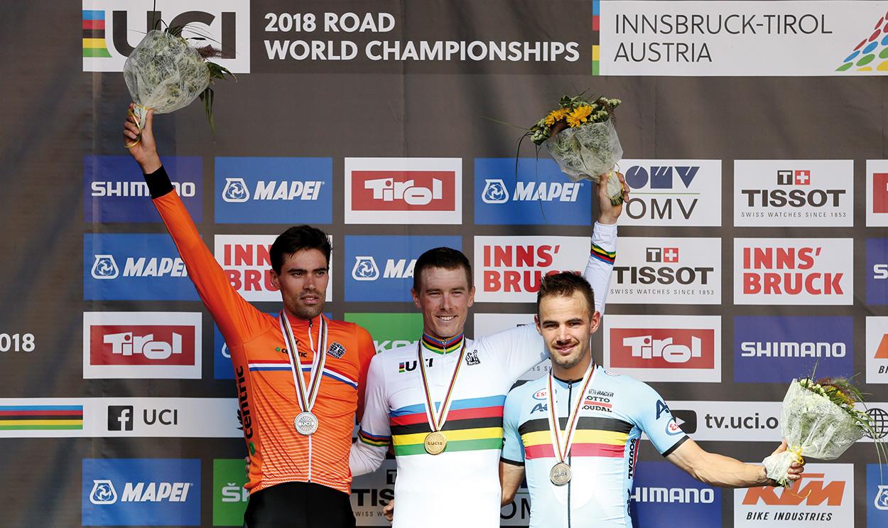 podio crono individuale maschile