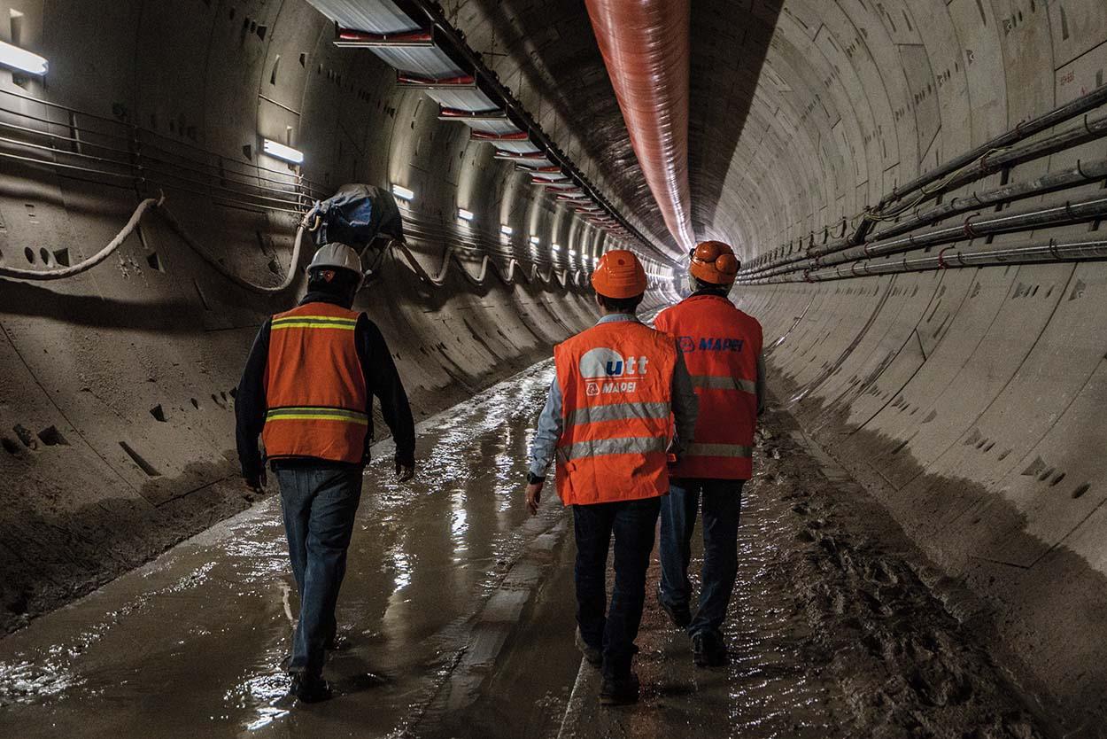 Tunnel Città del Messico Toluca Mexico Mapei (1)