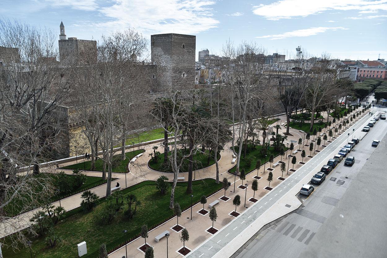 Giardini Pubblici Isabella D'Aragona Mapei (1)