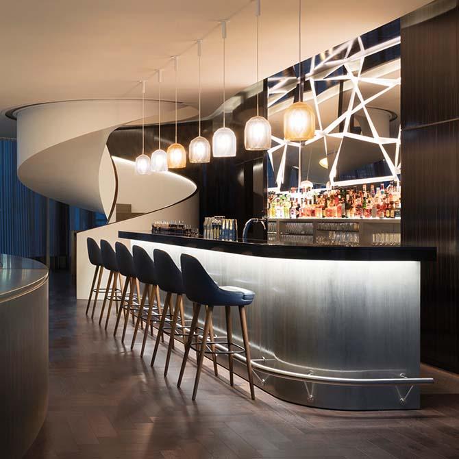 Resine e adesivi per parquet Mapei all'Hotel Fontenay Amburgo - Stoermer & Partners - Thun & Partners - Kuehne Nagel Logistics (3)