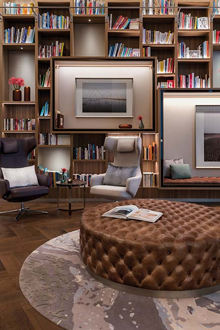Resine e adesivi per parquet Mapei all'Hotel Fontenay Amburgo - Stoermer & Partners - Thun & Partners - Kuehne Nagel Logistics (4)