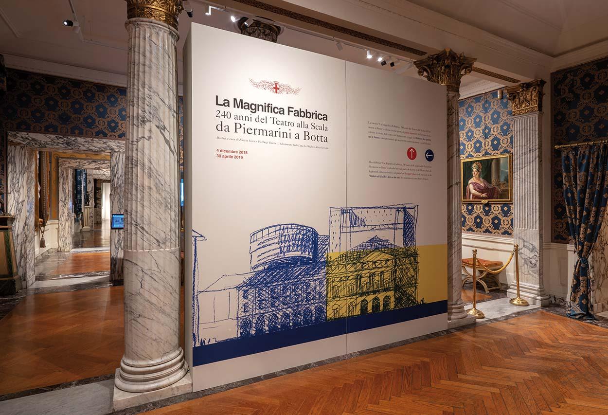 Mapei sostiene la mostra 240 anni del teatro alla scala da piermarini a botta (4)