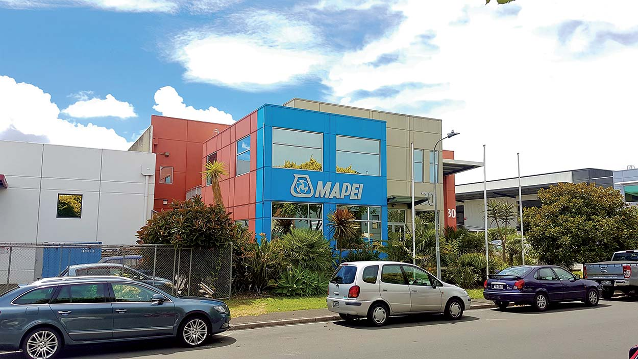 Mapei New Zealand - Auckland