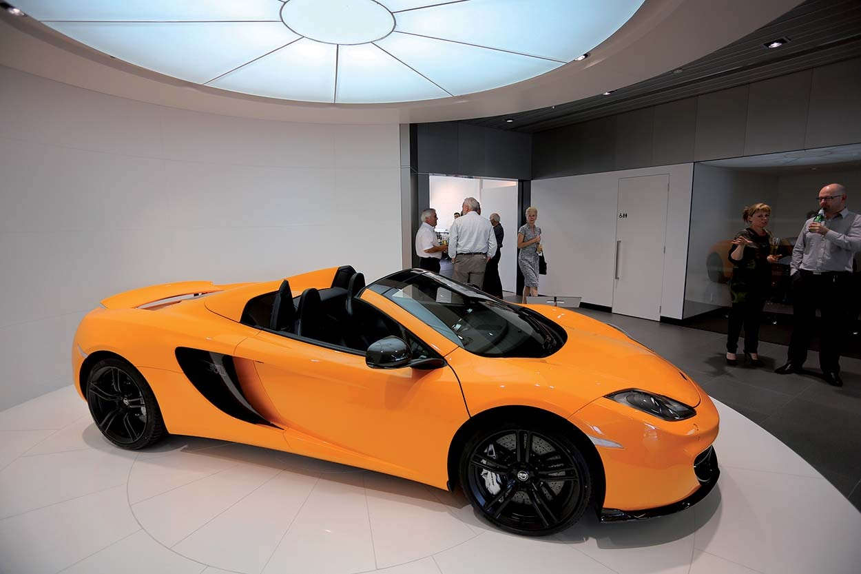 Mapei New Zealand - showroom mclaren