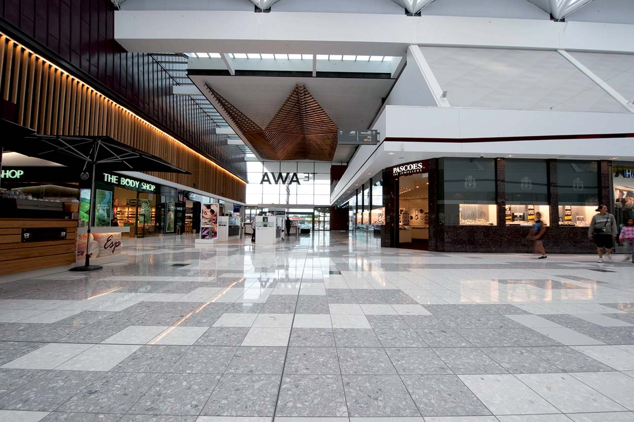 Mapei New Zealand - The Base shopping mall
