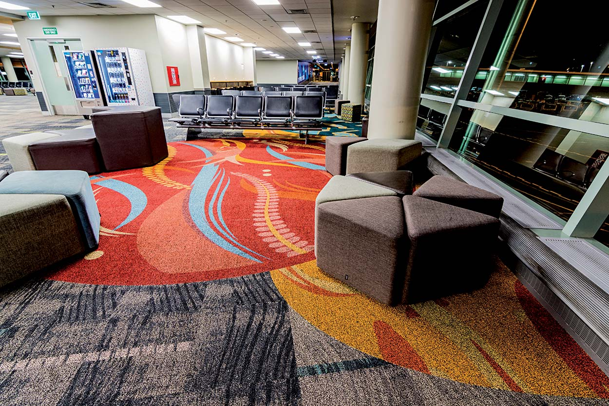 Mapei products for Wellington Airport Southern Terminal (2)