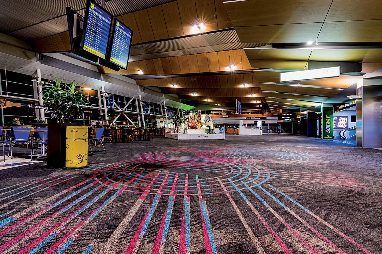 Mapei products for Wellington Airport Southern Terminal (4)