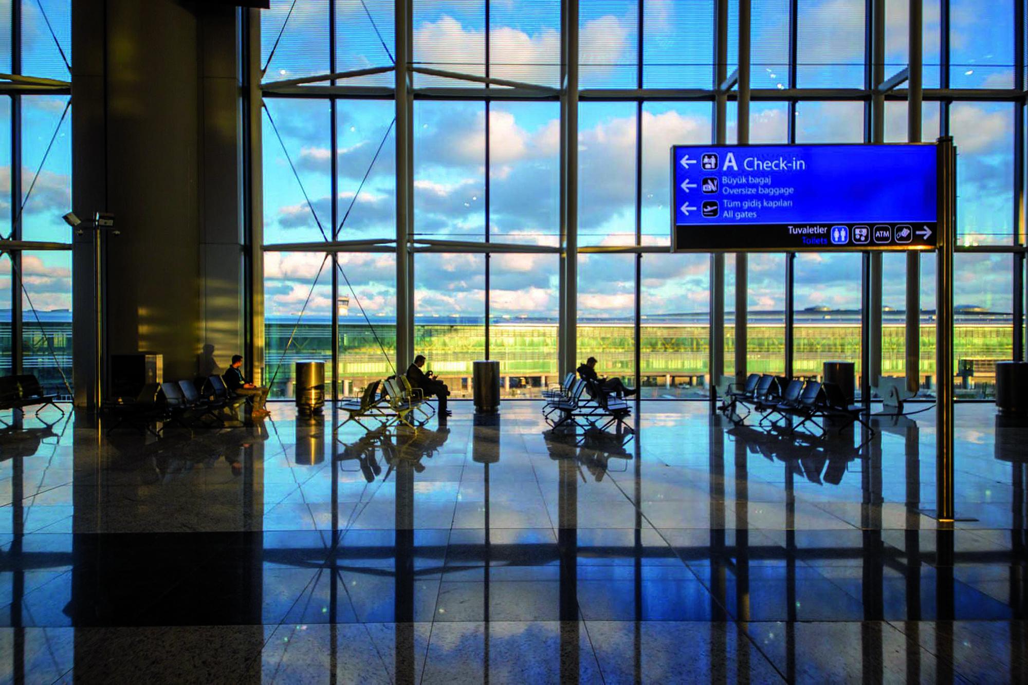 Aeroporto Istanbul - prodotti Mapei per greenroof impermeabilizzazioni prodotti per ceramiche fughe resine sigillanti (1)
