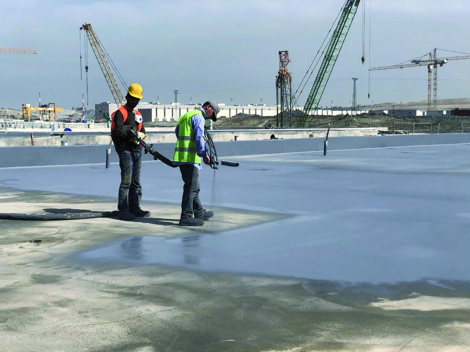 Aeroporto Istanbul - prodotti Mapei per greenroof impermeabilizzazioni prodotti per ceramiche fughe resine sigillanti (5)