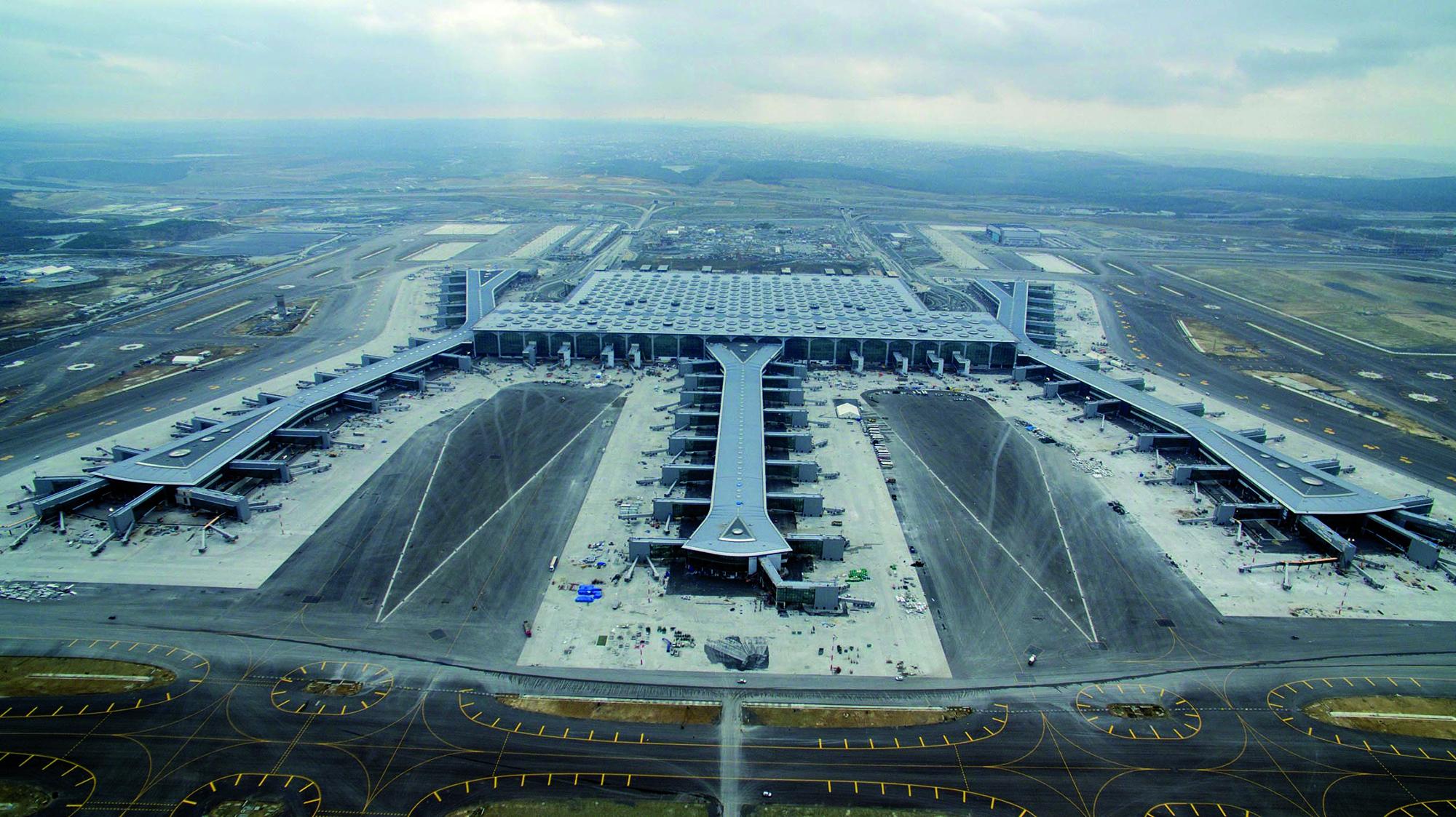 Aeroporto Istanbul - prodotti Mapei per greenroof impermeabilizzazioni prodotti per ceramiche fughe resine sigillanti (6)