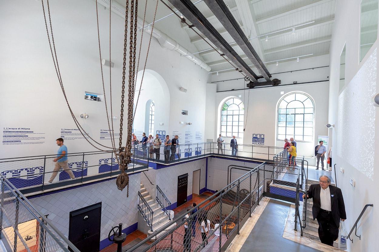 Mapei e il Museo dell'Acqua di Milano con Mape-Antique - Silexcolor - Mapewood (7)