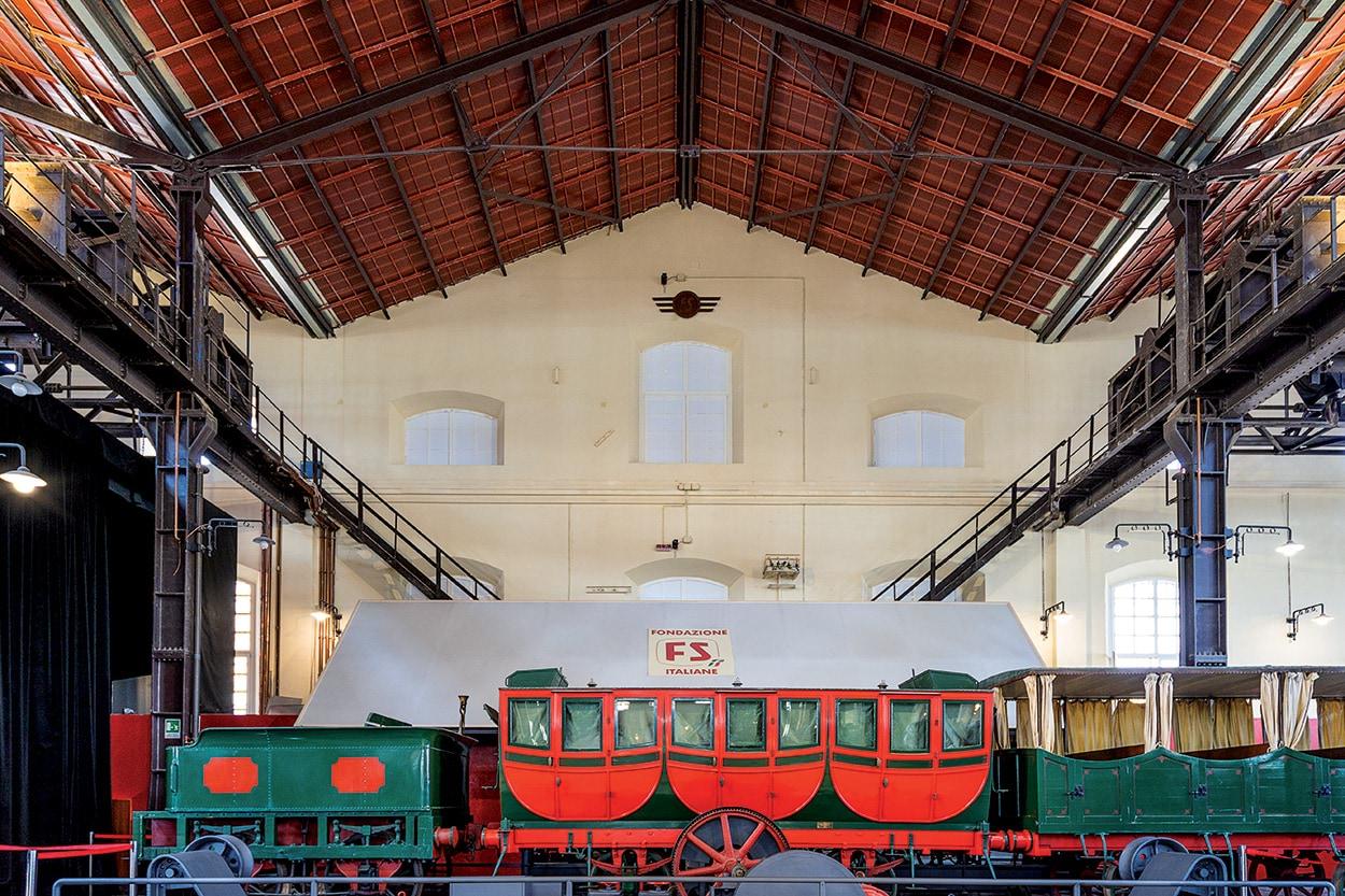 Mapei nel Museo Nazionale Ferroviario di Pietrarsa - Napoli - Mape-Antique - Silancolor (1)