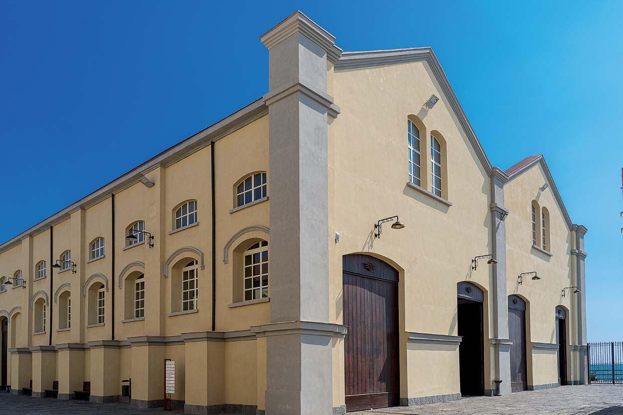 Mapei nel Museo Nazionale Ferroviario di Pietrarsa - Napoli - Mape-Antique - Silancolor (3)