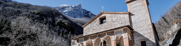 Sanctuary of the Madonna dell'Ambro, Montefortino (Italy)