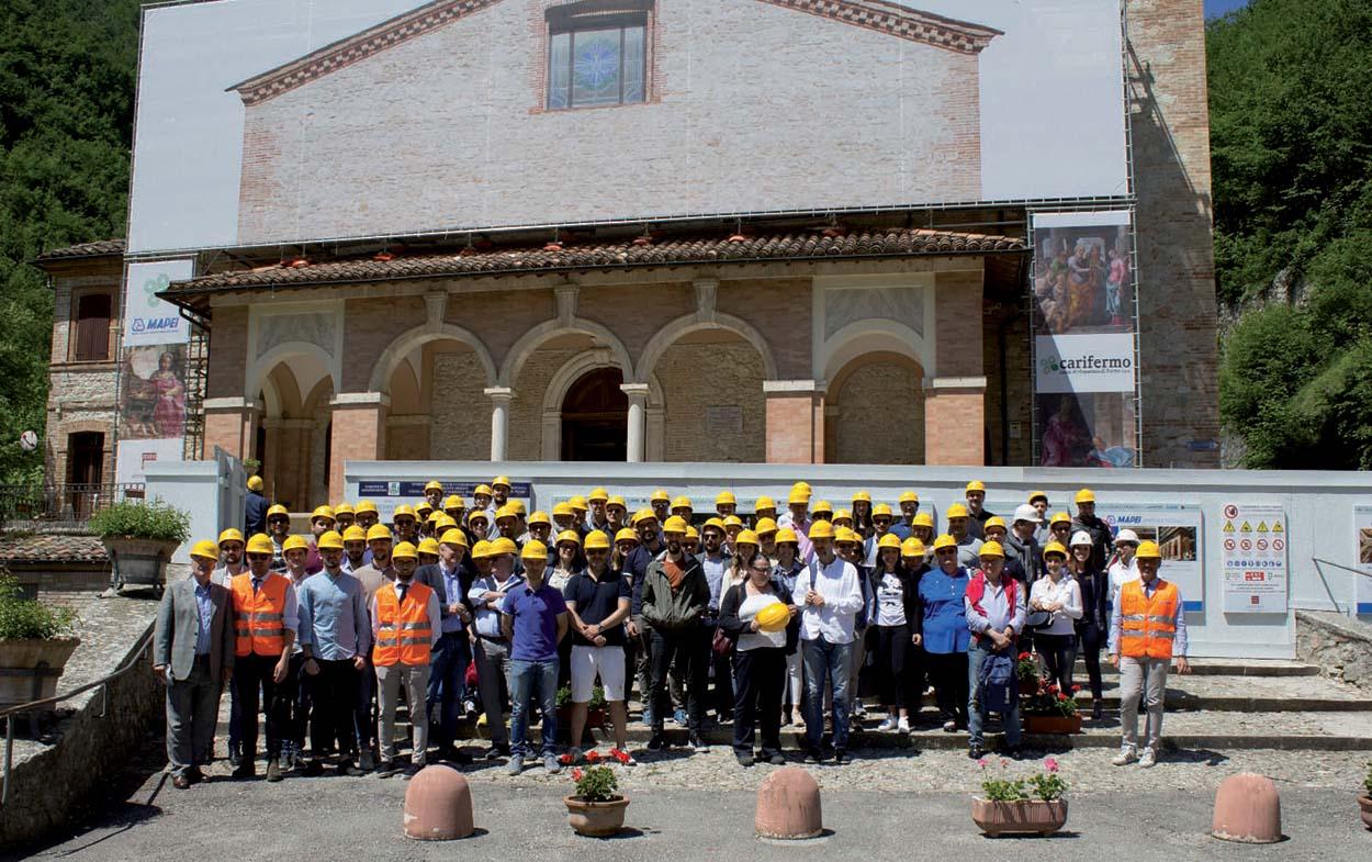 Santuario della Madonna dell'Ambro - foto di gruppo (2)