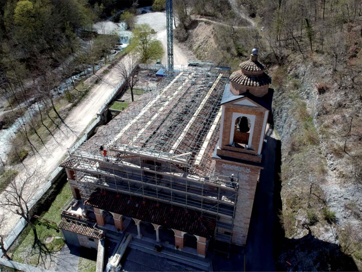 Santuario della Madonna dell'Ambro - Mapei Partner Tecnico del restauro conservativo e miglioramento sismico_2018 (1) copia