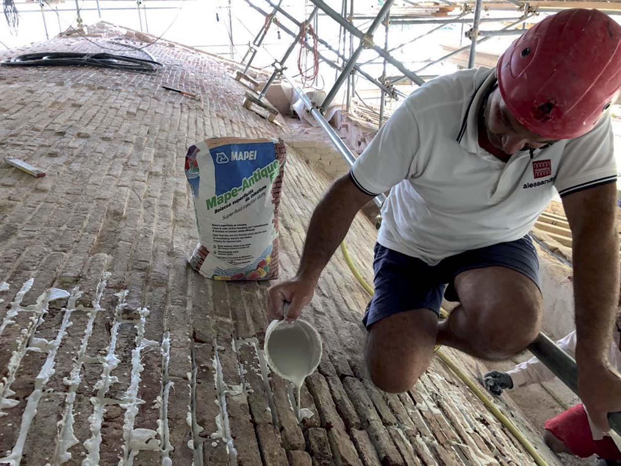 Santuario della Madonna dell'Ambro - Mapei Partner Tecnico del restauro conservativo e miglioramento sismico_2018 (1 (3)