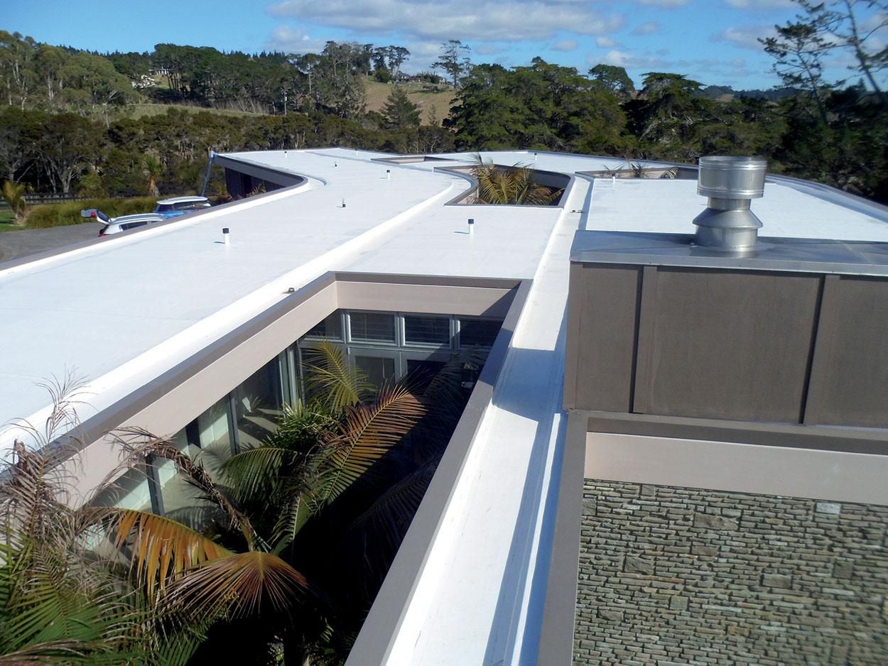Okura House - Auckland - New Zeland - Polyglass - Mapei - impermeabilizzazioni