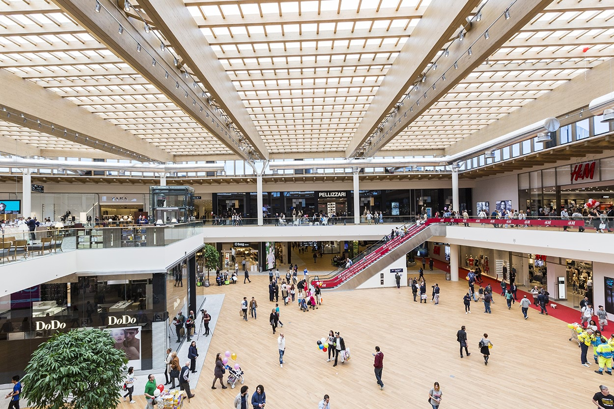 Centro Commerciale Arese - LEED GOLD - Mapei