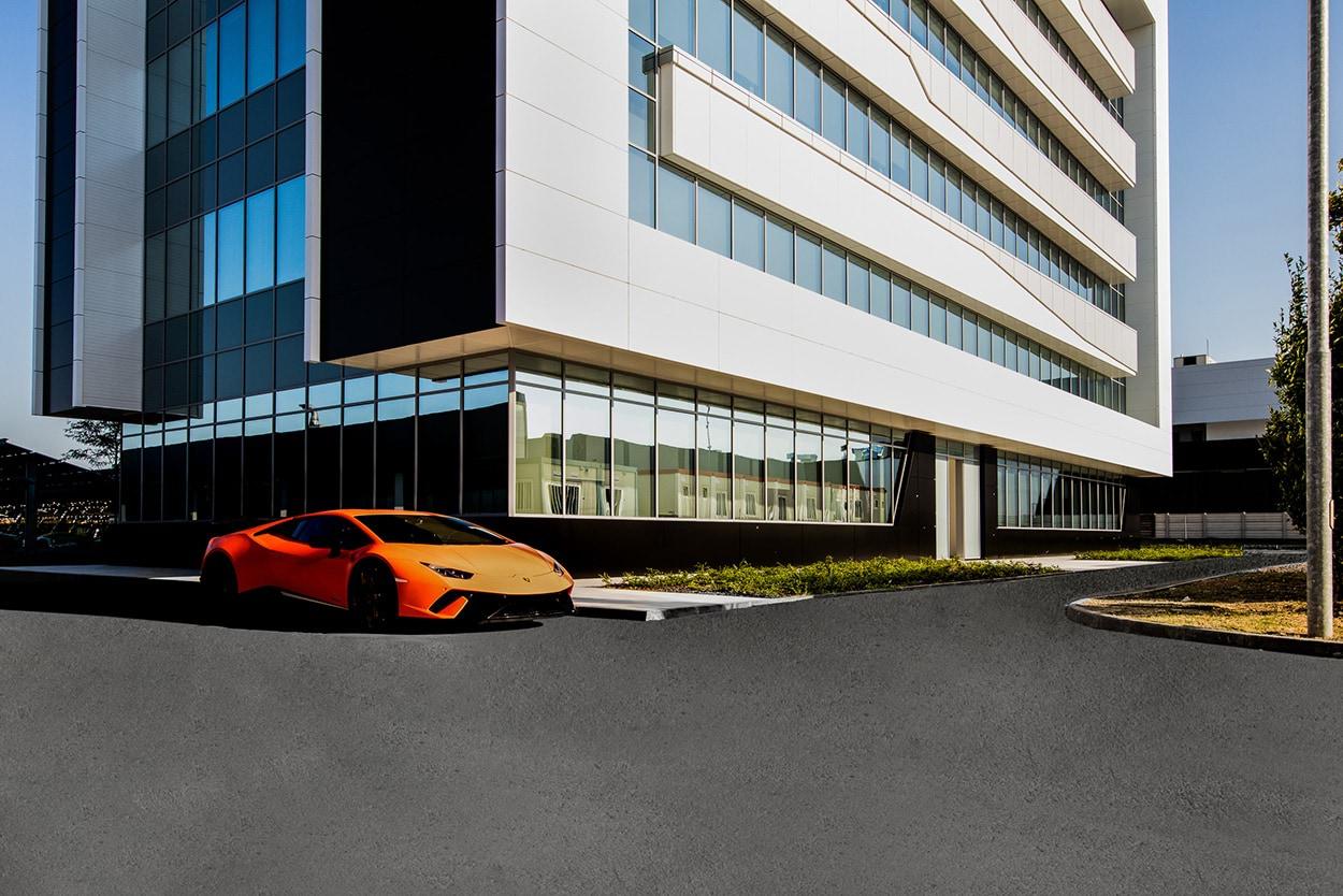 Lamborghini S.Agata Bolognese - LEED PLATINUM - Mapei