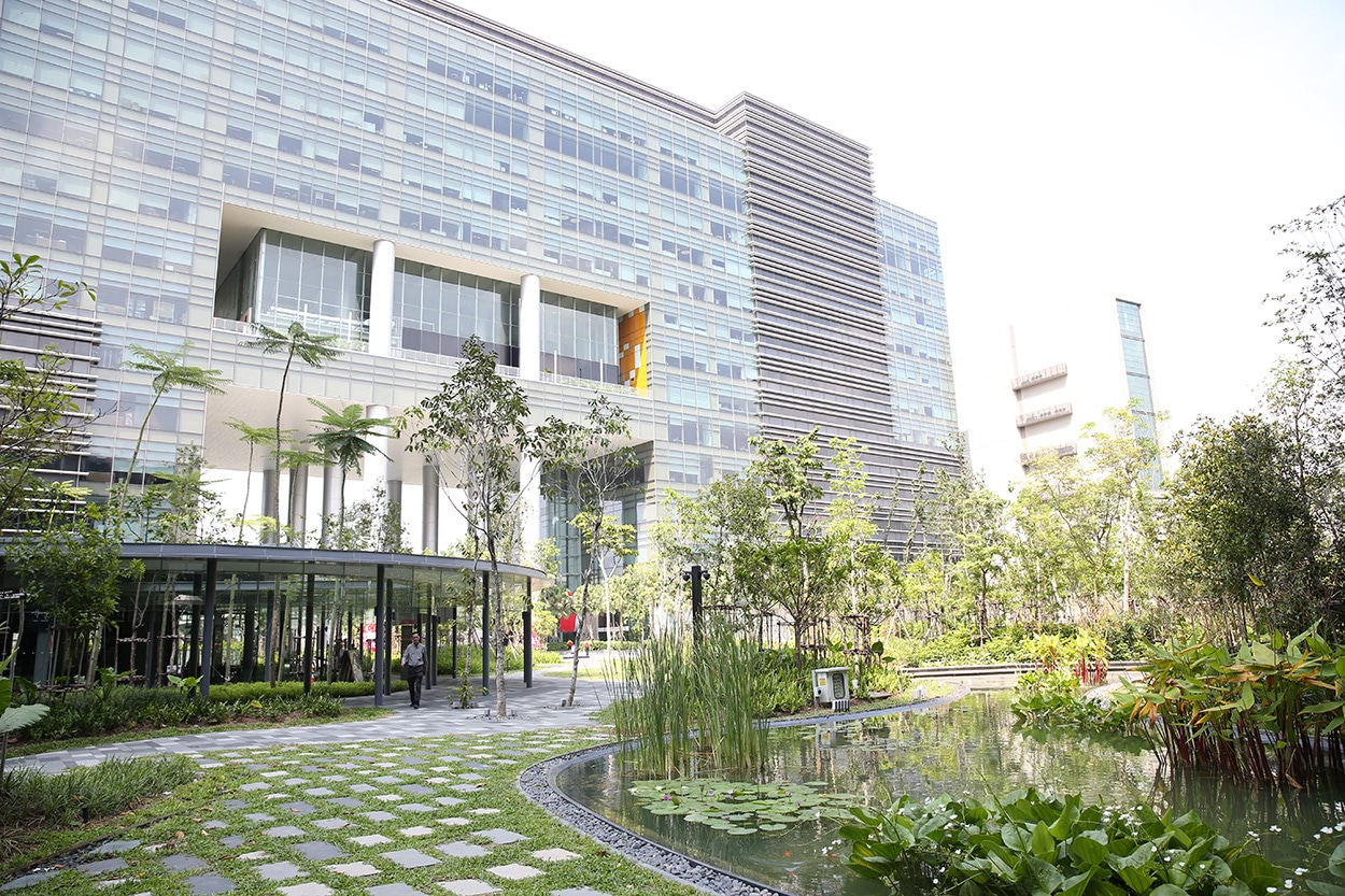 Mapletree Business City 2 - Singapore - Gold Leed - Mapei