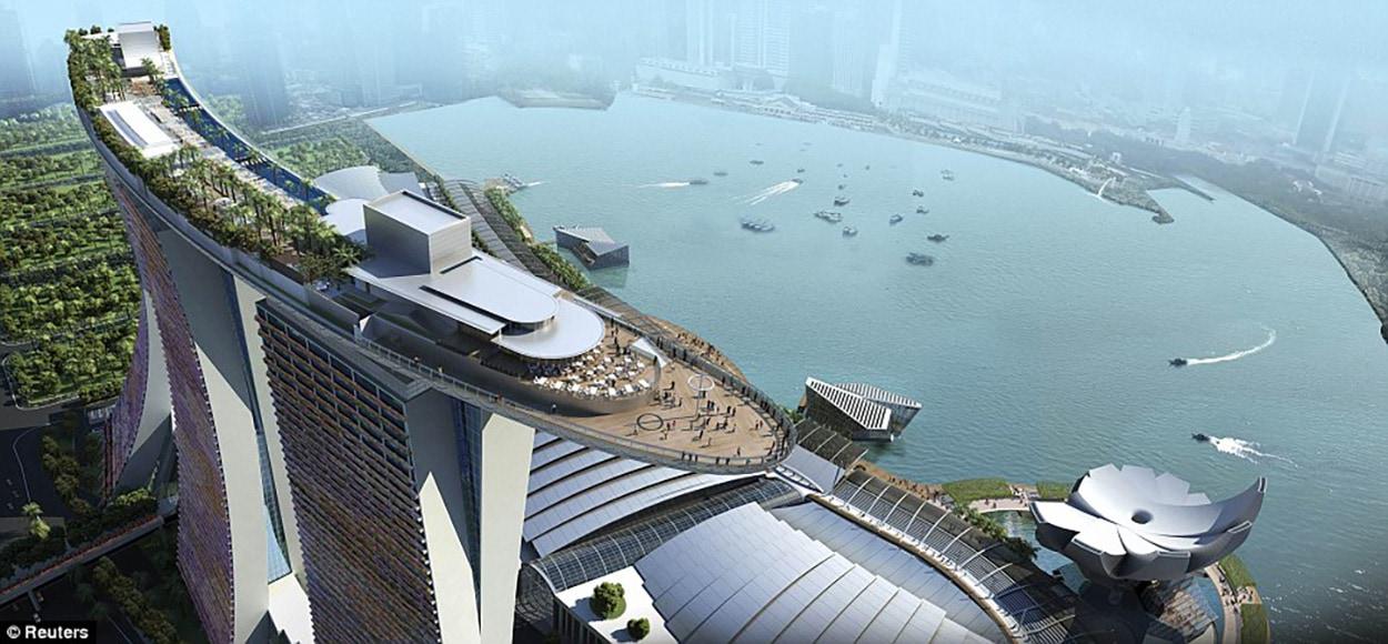 Marina Bay Sands Resort - Singapore -  Green Mark Gold Award - Mapei